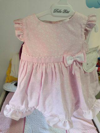 con etiqueta! vestido bebe