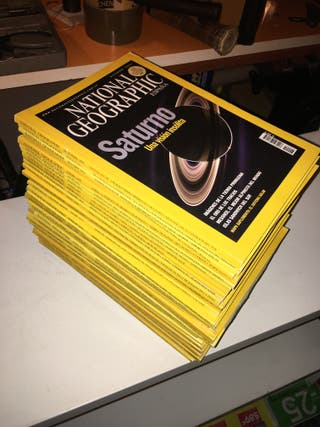 Lote de 31 Revistas National Geographic
