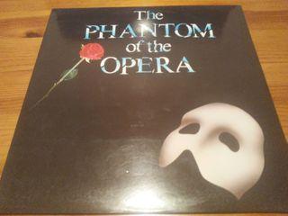 Disco Vinilo The Phantom of the Opera. Musical LP