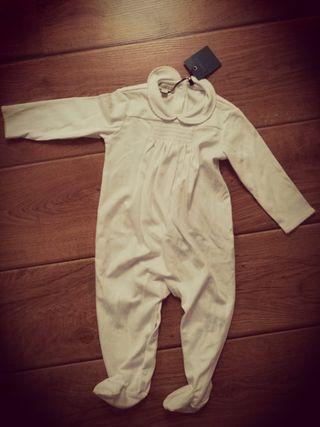 Pijama una pieza niña Gocco nuevo 9-12 meses