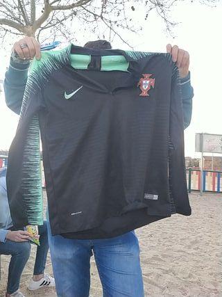 sudadera de entrenamiento de portugal