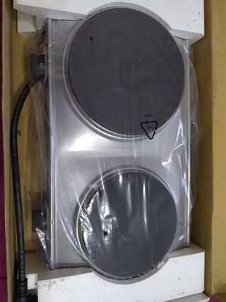 placa electrica doble