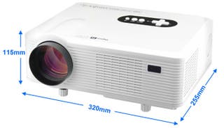 Proyector LED Excelvan 720d HD