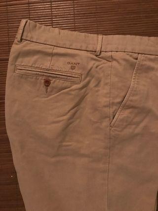 Pantalon chino de algodon de Gant
