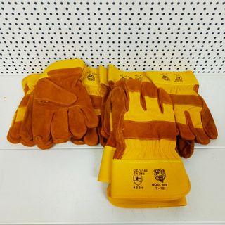 3 pares de guantes de trabajo de serraje NUEVOS