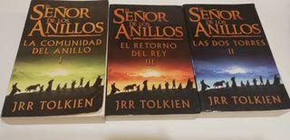 """Libros Trilogía """"El Señor de los Anillos"""""""