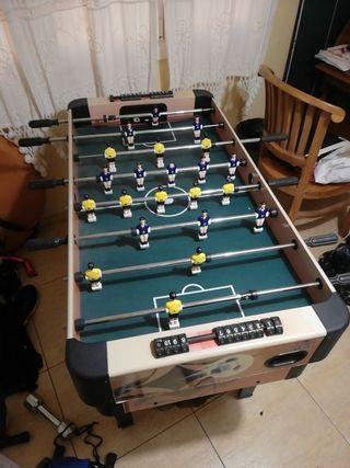 billar + futbolin + ajedrez + bolos...