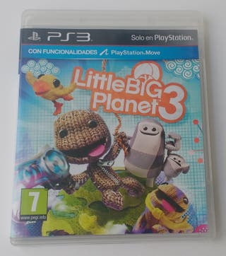 LITTLE BIG PLANET 3 PS3 Playstation