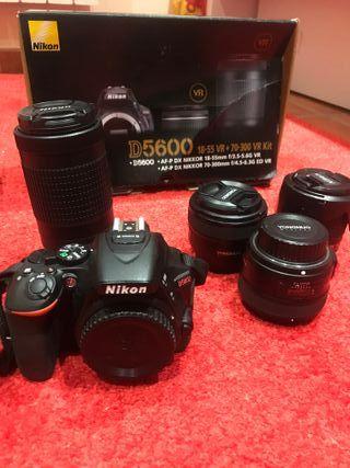 Réflex Nikon d5600