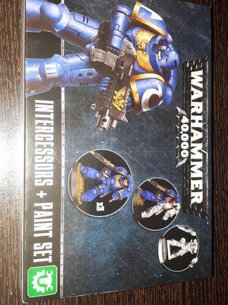 Warhammer 40.000. Intercessors+Paint Set.