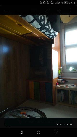 Mesa escritorio madera maciza