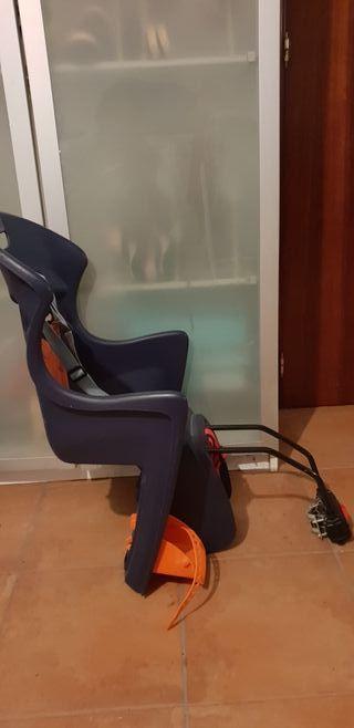 silla porta niños para bicicleta