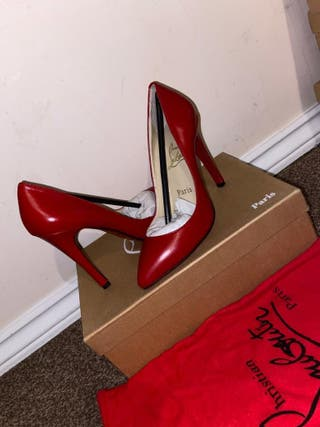 Red Christian louboutins size UK 3.5 & UK 6.5