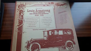 Vinilo Louis Armstrong and his Sebastian