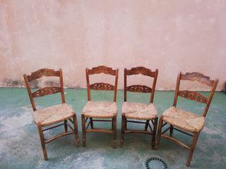 conjunto sillas rondeñas