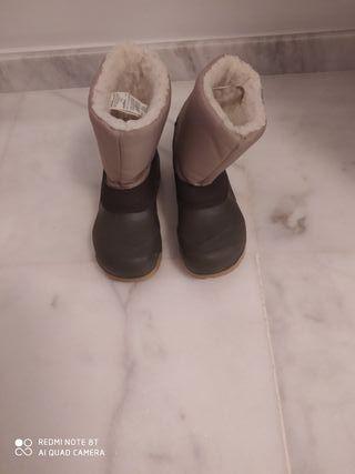 Botas de Nieve Niño talla 32-33