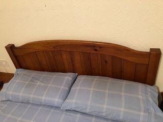 Cabezal madera maciza