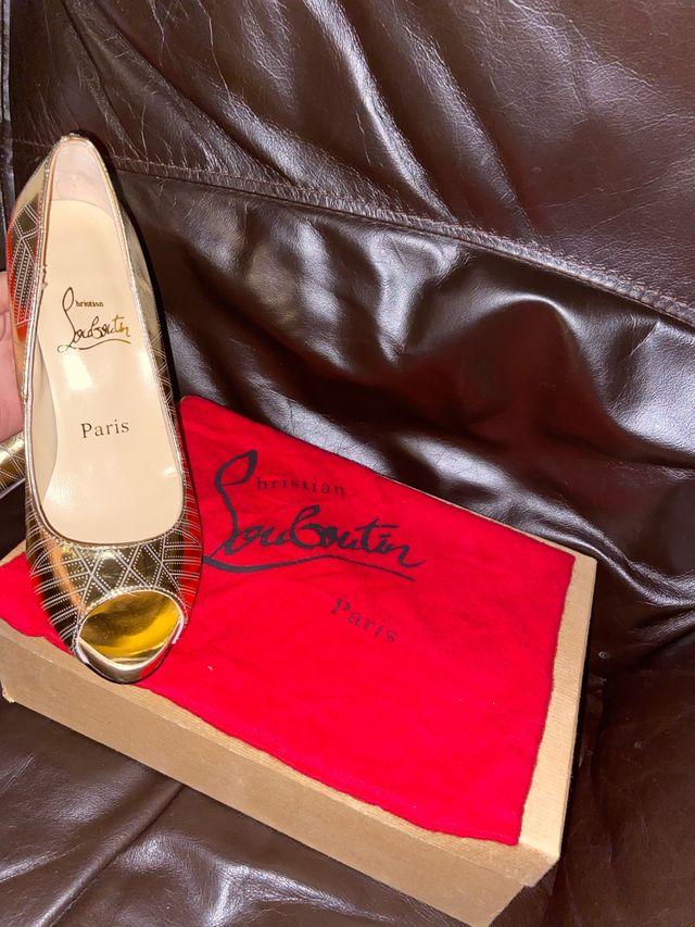 Christian louboutins inspired heels size UK 6.5