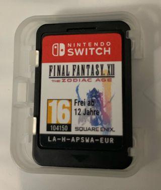 Final Fantasy XII THE ZODIAC AGE juego nintendo