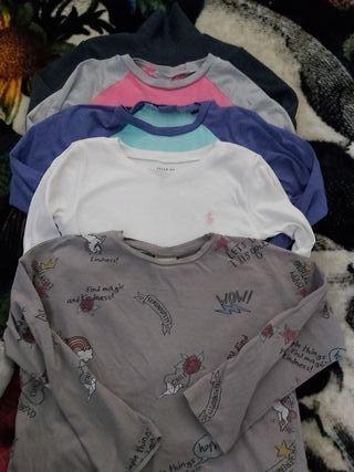 camisetas 5 años