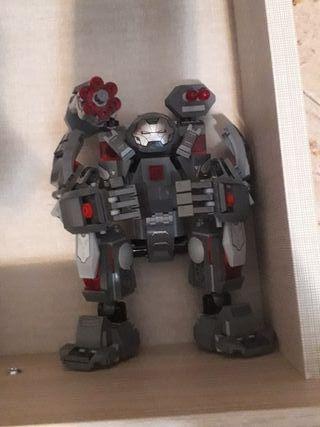 lego marvel robot war machines