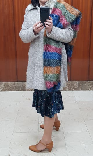 Boa / Bufanda multicolor - Años 20 - Disfraz