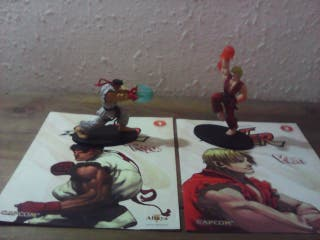 street fighter lote figuras de coleccion capcom