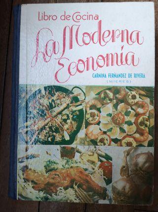 Libro de Cocina La Moderna Economía 1964