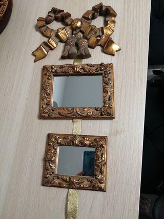 mascos con espejos