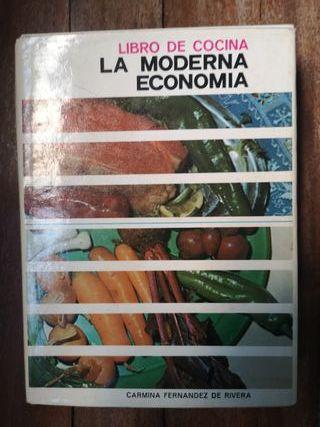 Libro de Cocina La Moderna Economía 1977