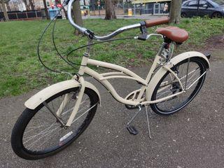 White Vintage Bike