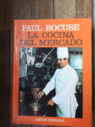 Libro La cocina del Mercado de Paul Bocales 1979