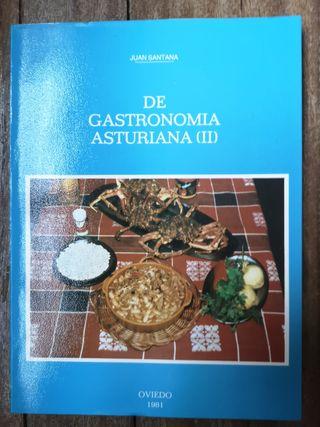 Libro de Cocina Gastronomia Asturiana (II) 1981