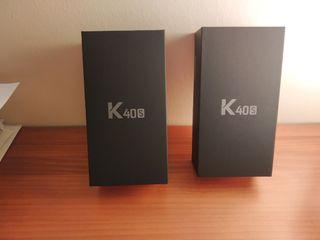 2 móviles LG K40S BLUE Nuevos en sus cajas con el