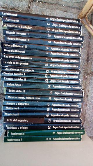 Enciclopedia temática Argos 1970