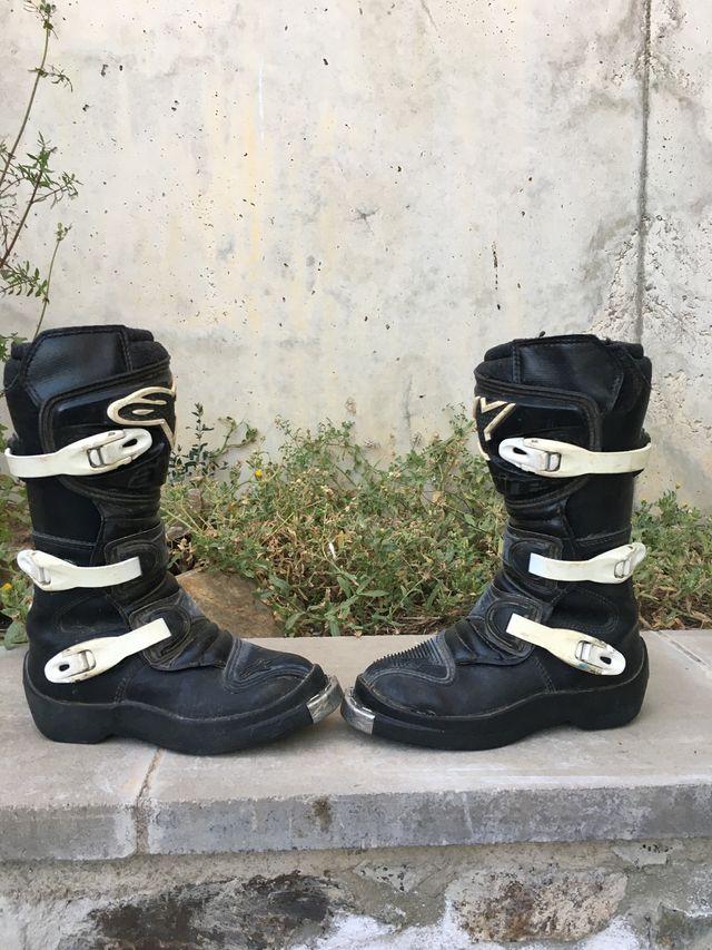 Botas enduro motocross infantil
