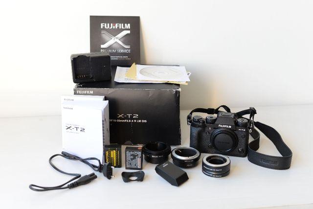 Cámara Fujifilm X-T2