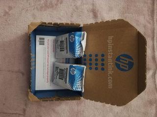 Dos cartuchos de tinta HP Instant Ink 65/304