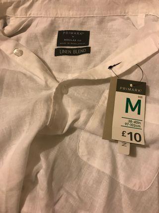 Regular fit primark white shirt