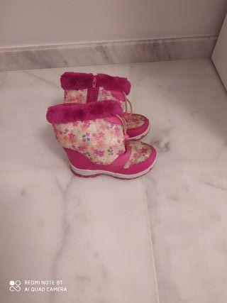Botas de nieve niña, talla 30