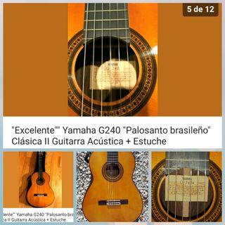 guitarra Yamaha g-240  