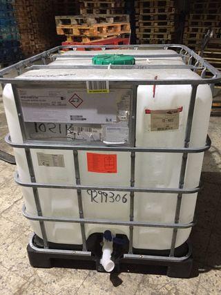 Depósito 1000 litros con un solo uso