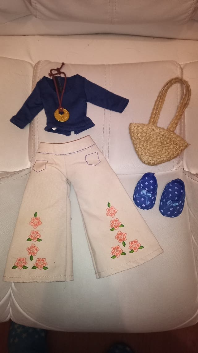 nancy NEW + conjunto hippie