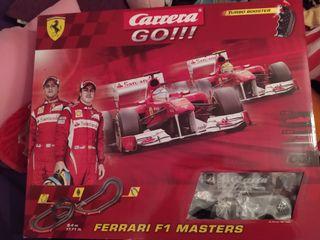 Carrera Go Ferrari F1 Masters Alonso y Massa