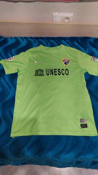 camiseta futbol malaga joaquin