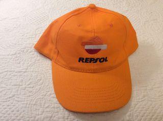 Gorra equipo Repsol