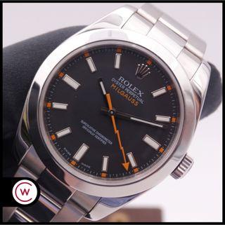 ROLEX Milgauss Negro 116400