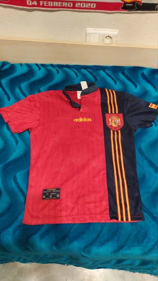 camiseta futbol españa 1996