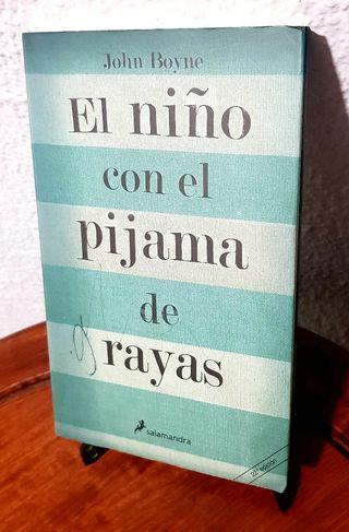 """LIBRO """"EL NIÑO DEL PIJAMA DE RAYAS"""""""