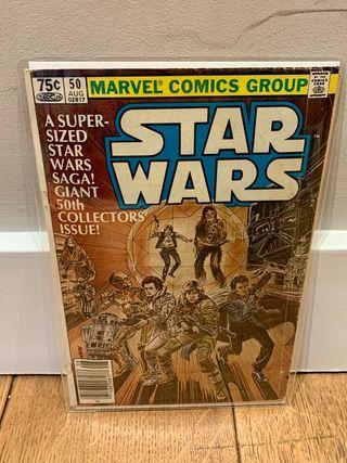 Star Wars #50 Preciosa portada coleccionistas